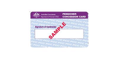 Pension-card
